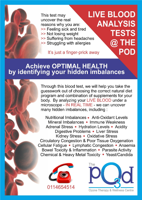 Live Blood Analysis Tests at The Ozone Pod, Fourways